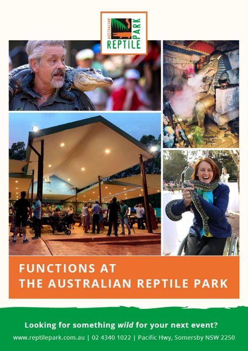 Reptile Park Functions giude