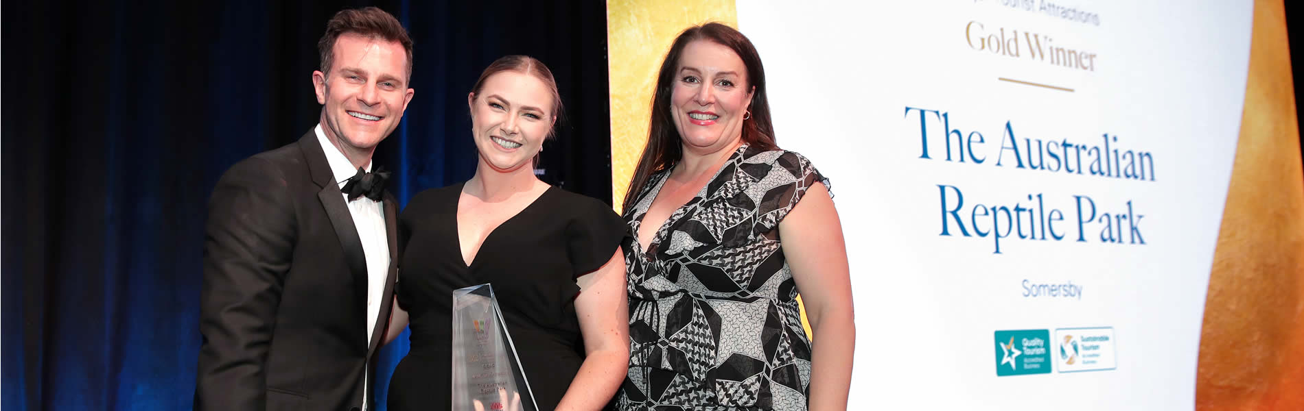 Awards of the Australian Reptile Park